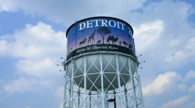 Detroit Seeking Private Partners for Water/Wastewater System