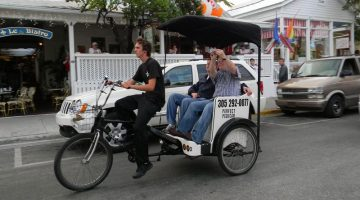 Pedicab Market in Siesta Key, FL Doesn't Need to Be Regulated
