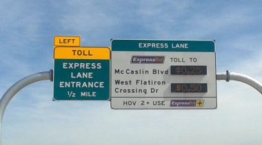 Express Transit Lanes for Toll Roads