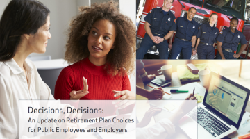 """Do New Public-Sector Employees Overwhelmingly """"Choose"""" DB plans? Not Exactly."""