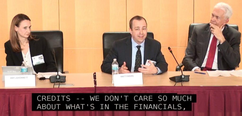 Matt Fabian Speaking at SEC Municipal Disclosure Conference