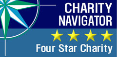 Charity Navigator - 4 Star Rating