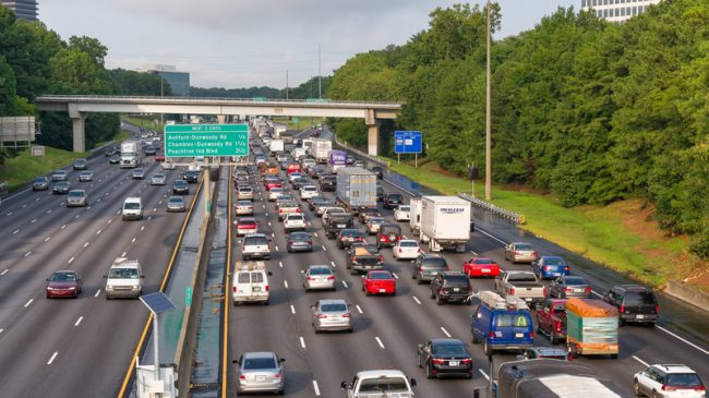 Creating a Managed Lanes Network in Atlanta