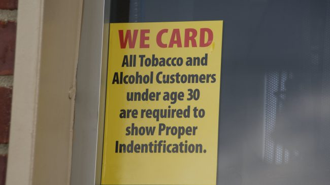 The Criminal Justice Implications of Raising the Tobacco Age to 21
