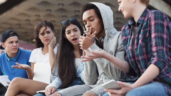 Why Nobody Cares About Teen Smoking