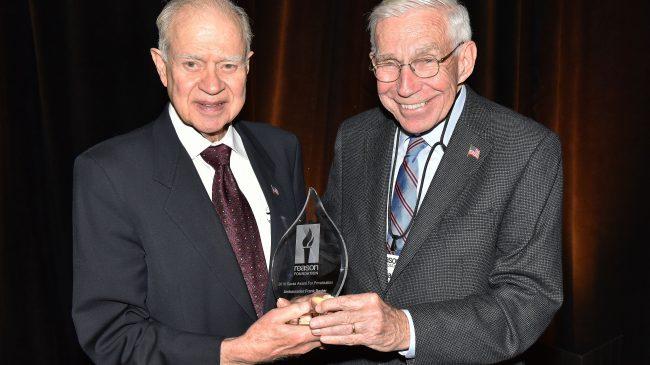 Frank Baxter Wins the 2018 Savas Award for Public-Private Partnerships