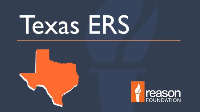 Texas Employee Retirement System (Texas ERS) Pension Analysis